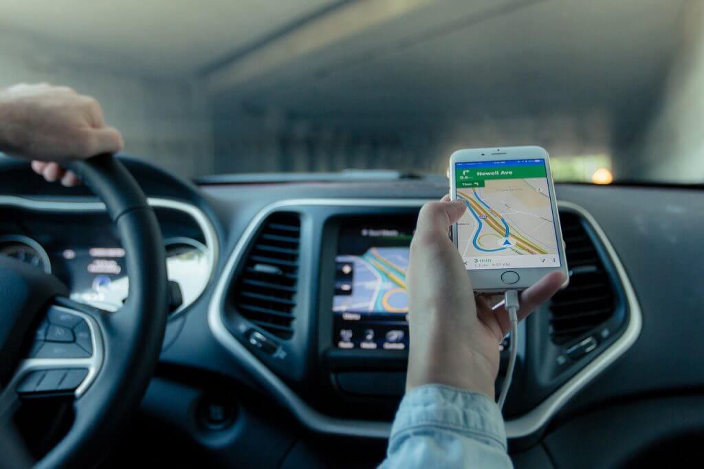 Monitorowanie GPS pojazdów - aplikacja lokalizacyjna